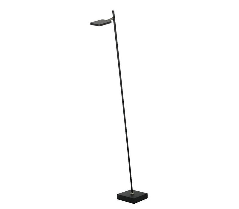 Vloerlamp Block zwart 1 lichts