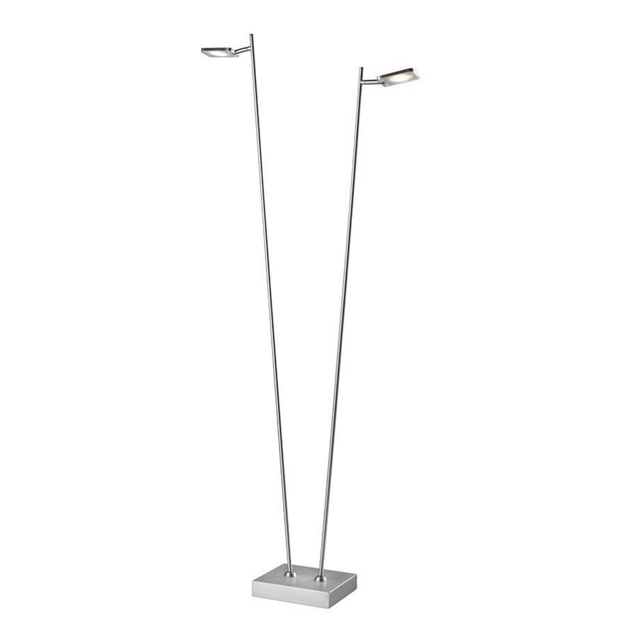 Freelight Vloerlamp Block mat chroom 2 lichts