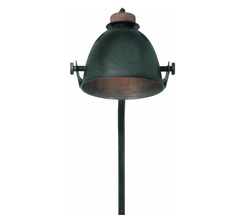 Vloerlamp Oldie zwart-hout