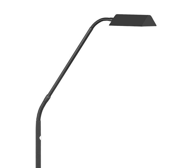 Vloerlamp Como zwart