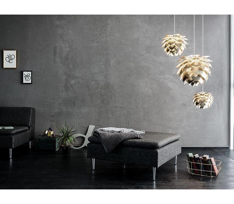 Hanglamp Silvia mat goud medium