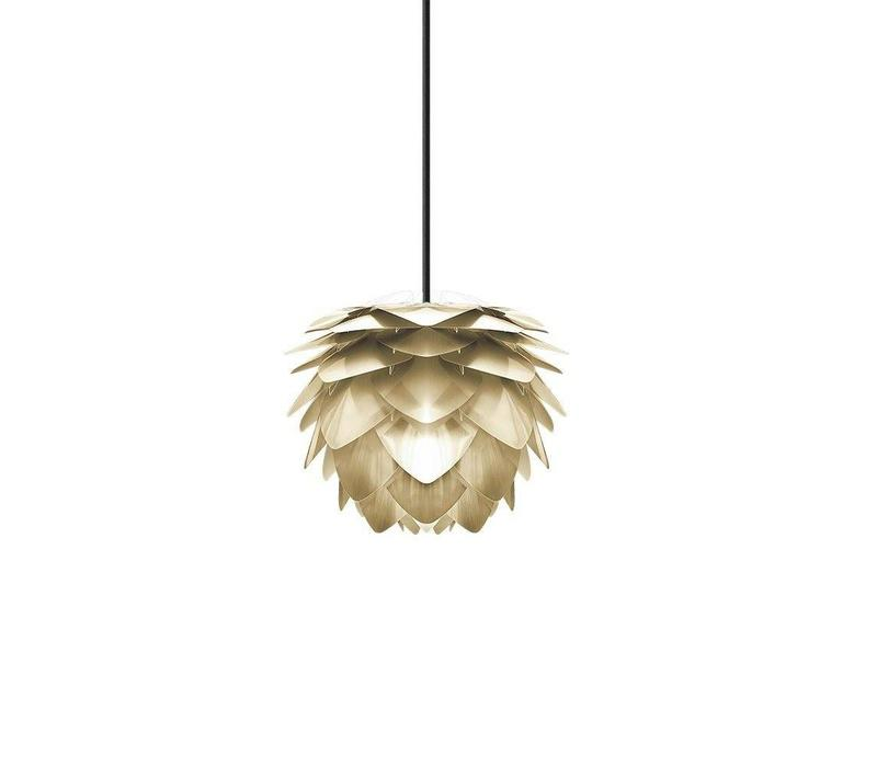 Hanglamp Silvia mat goud mini