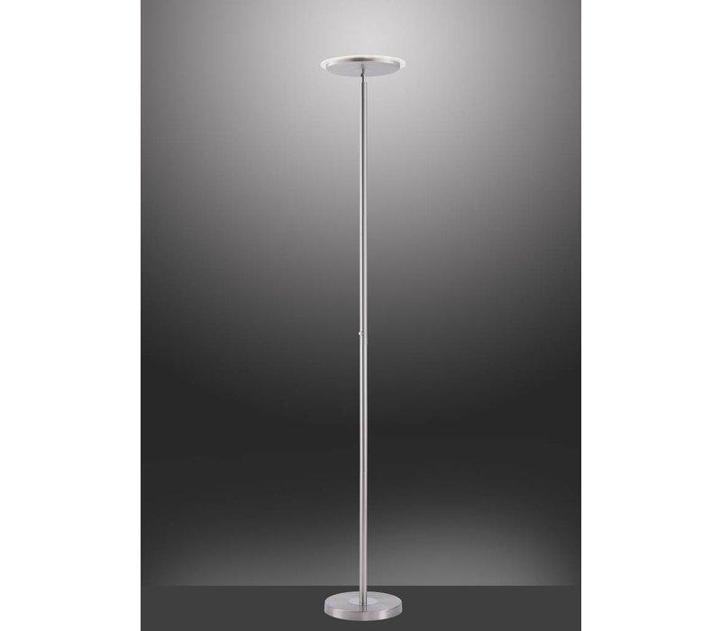 Vloerlamp Hans mat chroom