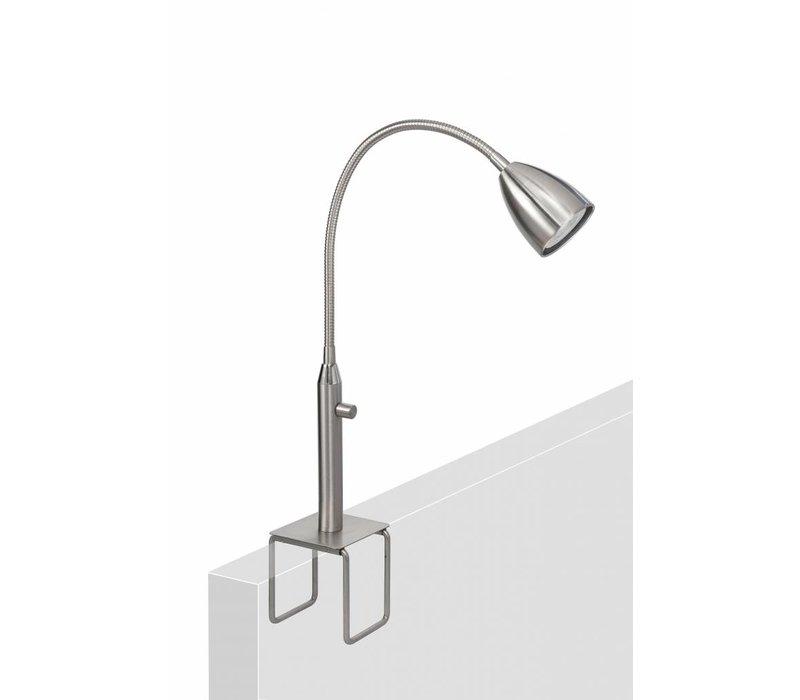 Klemlamp Malmö mat chroom