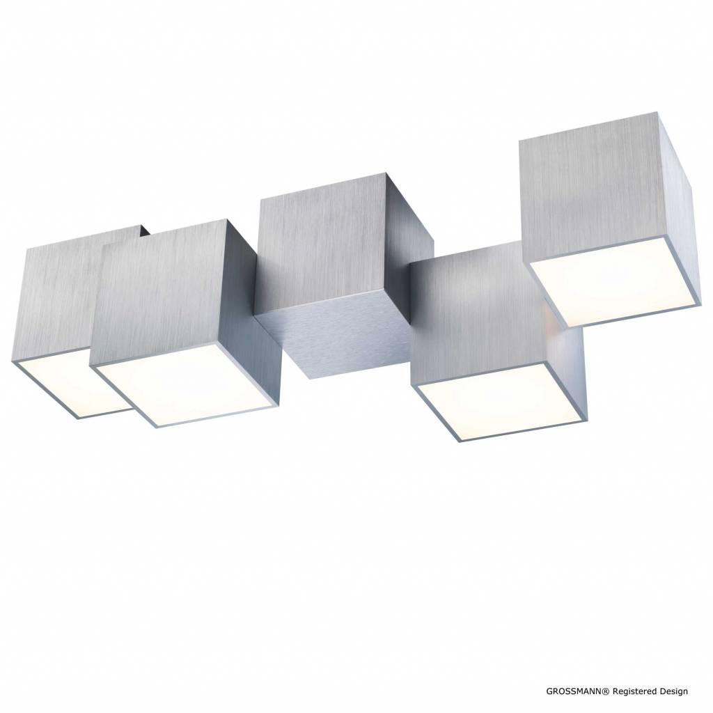 Grossmann Plafondlamp Rocks 4 lichts Grossmann