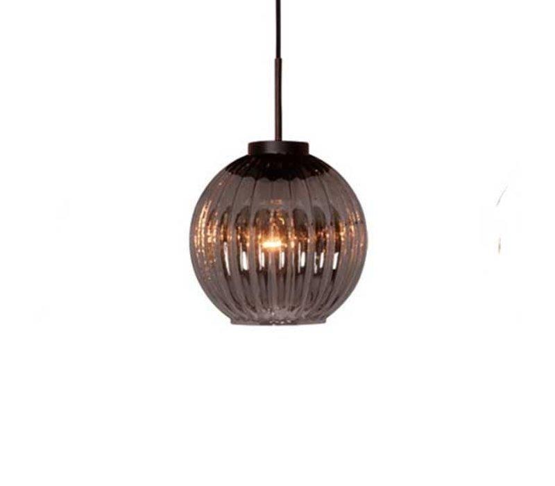 Hanglamp Zucca 3 lichts rond Rook
