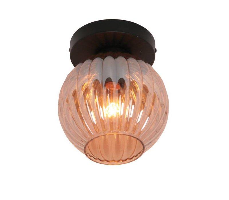 Plafondlamp Zucca Amber