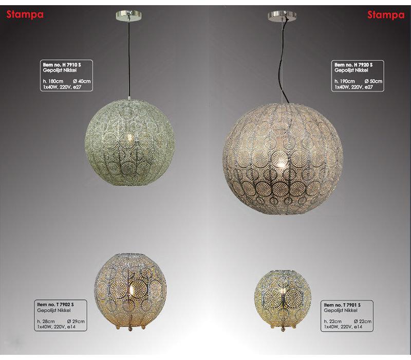 Tafellamp Stampa 29 cm