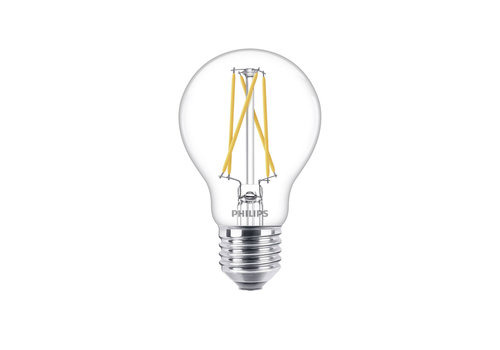 Philips LED E27 lamp 8,5 Watt Philips warmglow filament DIM