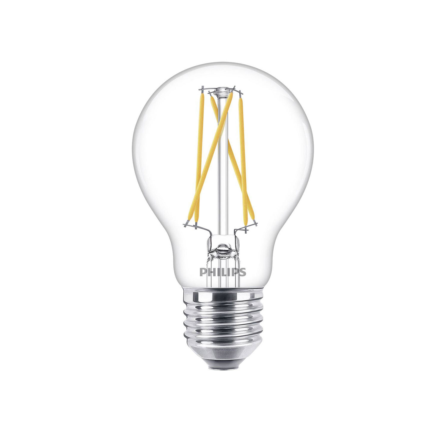 Philips LED E27 lamp 60-9 Watt Philips warmglow filament DIM