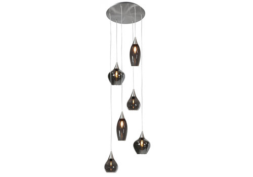 Highlight Hanglamp Cambio 6 lichts Ø 46 cm