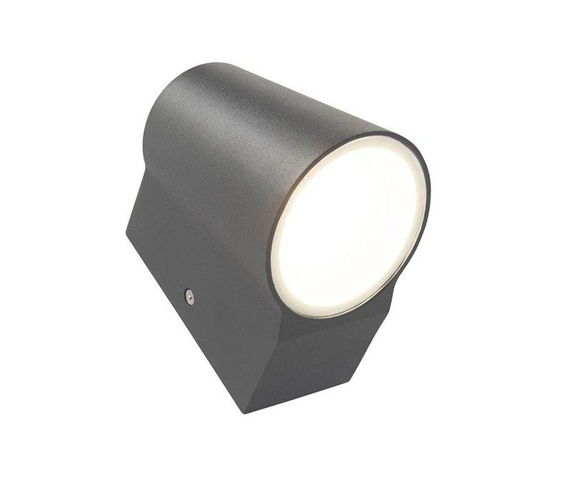 Buitenlamp Uma antraciet dag nacht sensor