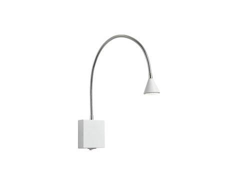 Lucide BUDDY Wandlicht LED 3W flex L54 (8x8x2,5cm) Wit