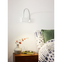 BUDDY Wandlicht LED 3W flex L54 (8x8x2,5cm) Wit