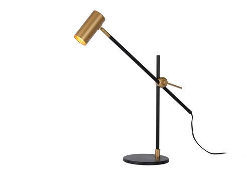 Lucide PHILINE Bureaulamp GU10 5W Zwart / Goud