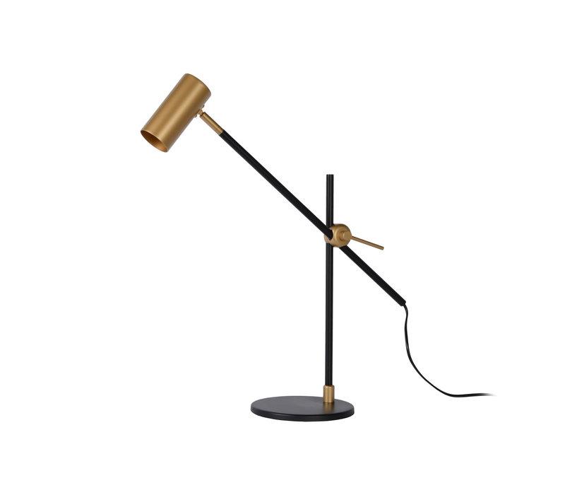 PHILINE Bureaulamp GU10 5W Zwart / Goud