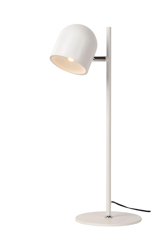Lucide SKANSKA Bureaulamp-Wit-Ø16-LED Dimb.-7W-3000K