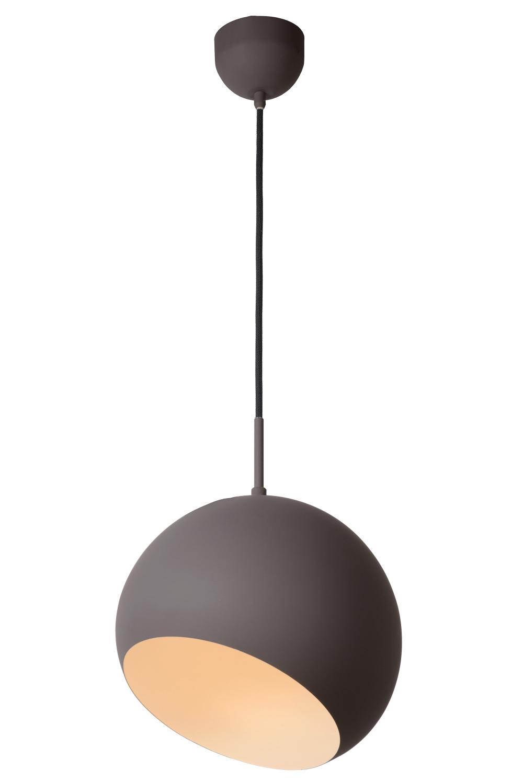 Lucide BOBO Pendel LED 15Wincl. Ø28cm Grijs