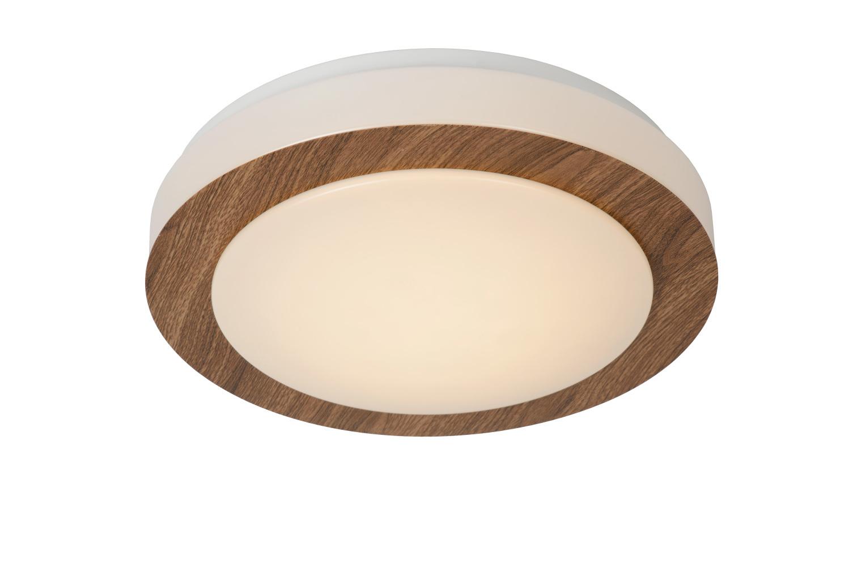 Lucide DIMY Plafondlicht LED 12W 3step dim Ø28cm Hout