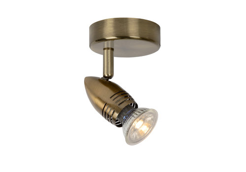 Lucide CARO-LED Wandspot   1x GU10/5W Ø8.5 H10.5 Brons