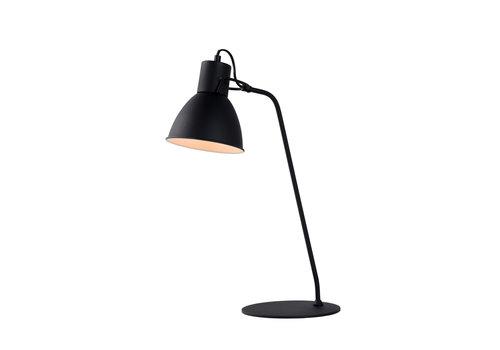 Lucide SHADI Bureaulamp-Zwart-Ø20-1xE14-40W-Metaal