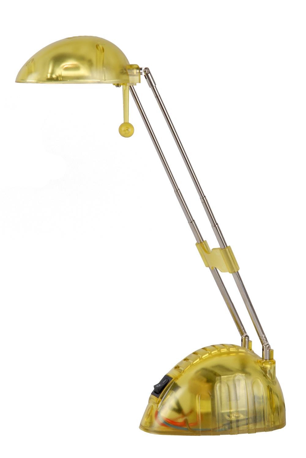 Lucide JOYCE Bureaulamp 12V/20W transparant Geel