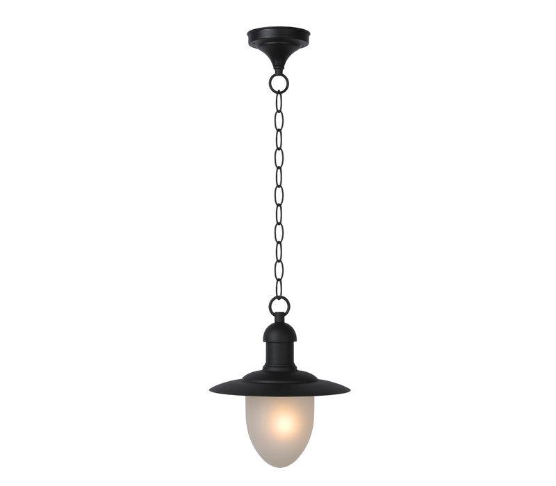 ARUBA Hanglamp IP44 1xE27 H78 D25 Zwart