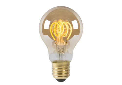 Lucide A60 Fil. lamp-Amber-LED Dimb.-1xE27-5W-2200K