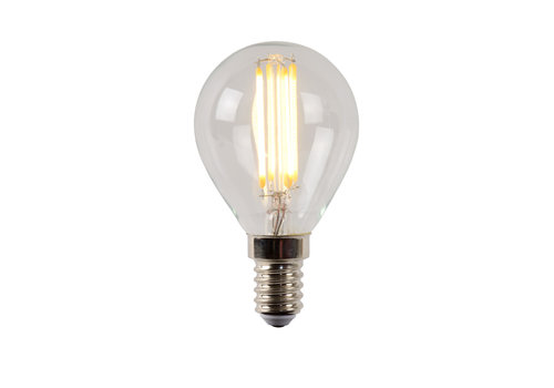 Lucide P45 Fil. lamp-Transp.-LED Dimb.-1xE14-4W-2700K