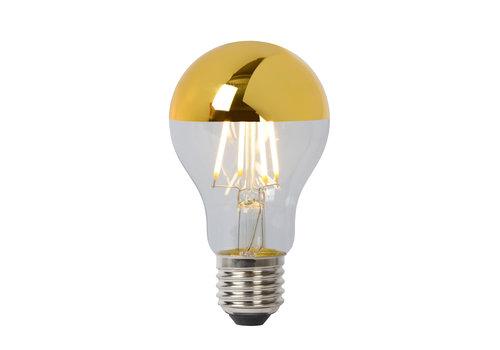 Lucide A60 SPIE. Fil. lamp-Goud-LED Dimb.-1xE27-5W-2700K