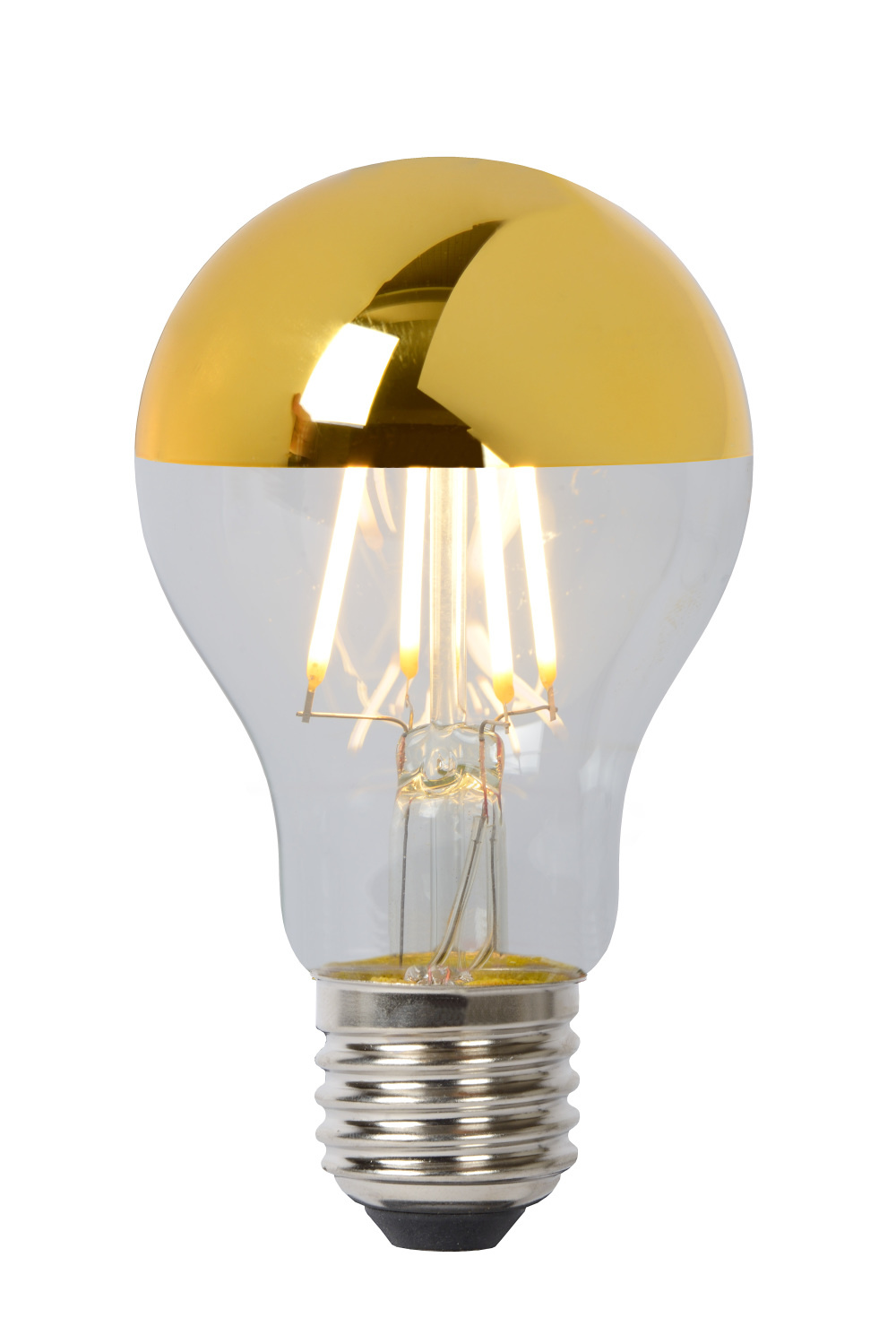 Lucide LAMP LED A60 Filament E27/5W 2700K Gold reflecto