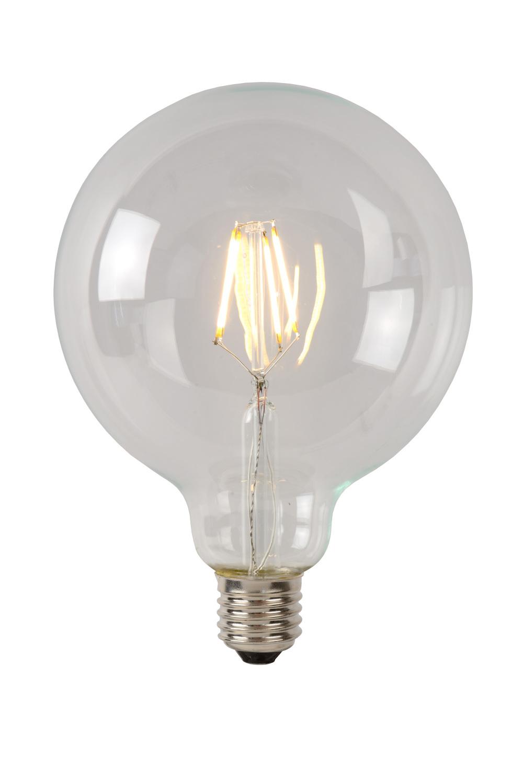 Lucide LAMP LED G125 Filament E27/5W 500LM 2700K Helder