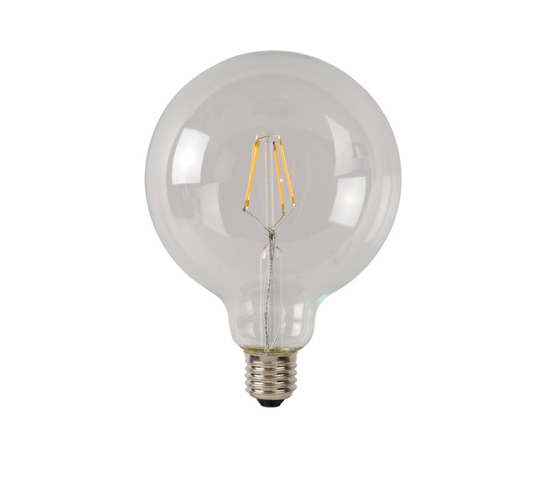 LAMP LED G125  Filament E27/5W 500LM 2700K Helder
