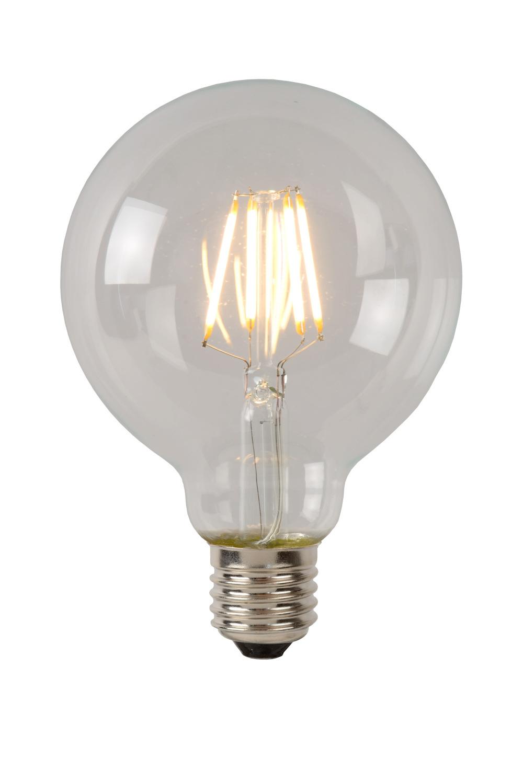 Lucide G95 Fil. lamp-Transp.-LED Dimb.-1xE27-5W-2700K