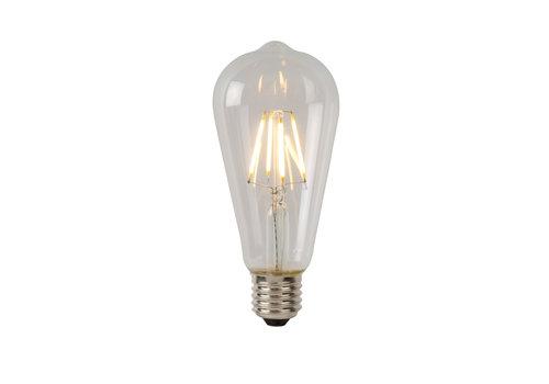 Lucide ST64 Fil. lamp-Transp.-LED Dimb.-1xE27-5W-2700K