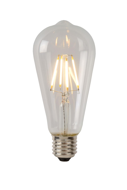 Lucide Lamp Led St64 Filament E27/5w 550lm 2700k Helder