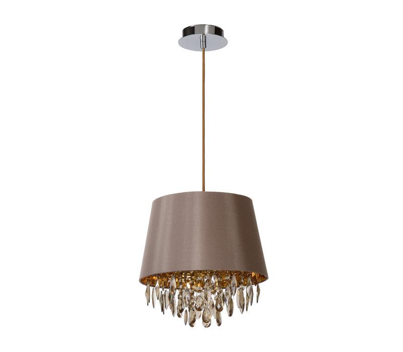 DOLTI Hanglamp-Taupe-Ø30,5-1xE27-60W-Acryli.