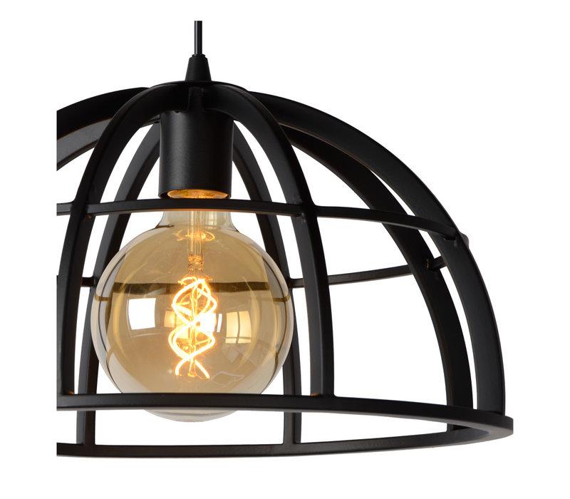 DIKRA Hanglamp 3xE27 60W  Zwart