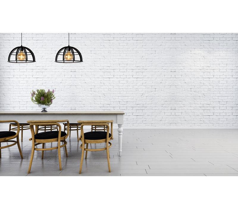 DIKRA Hanglamp 2xE27 60W  Zwart