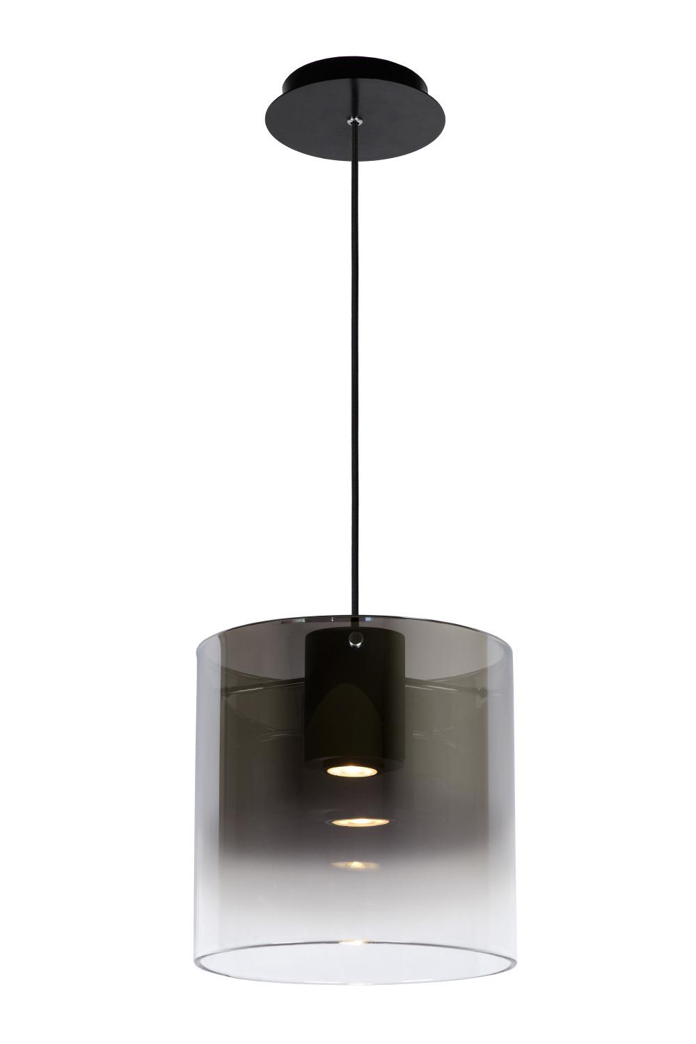 Lucide OWINO Hanglamp-Fumé-Ø25-LED Dimb.-1xGU10-5W-3000K