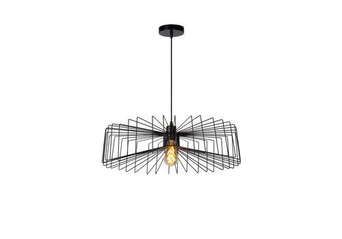 Lucide JUR Hanglamp E27/40W Ø57cm Zwart