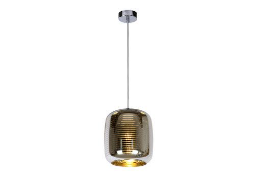Lucide ERYN Hanglamp 1xE27 60W Ø20cm  Chroom