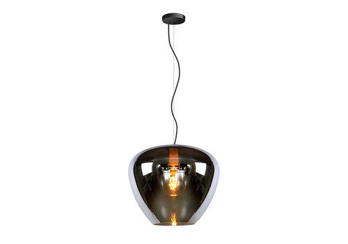 Lucide SOUFIAN Hanglamp 1x E27 H153cm D40cm Smoke