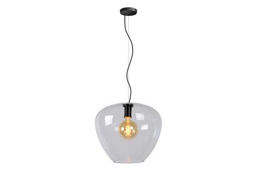 Lucide SOUFIAN Hanglamp 1x E27 H159cm D40cm Helder Glas