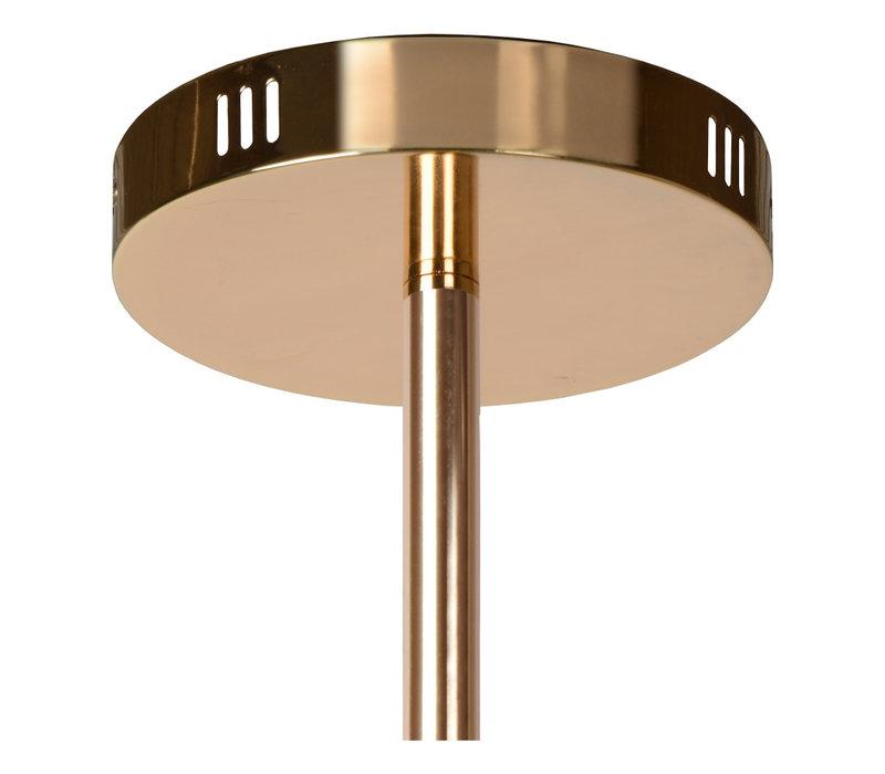 ALARA Hanglamp-Goud-Ø72-LED-6xG4-2W-2700K-Glas