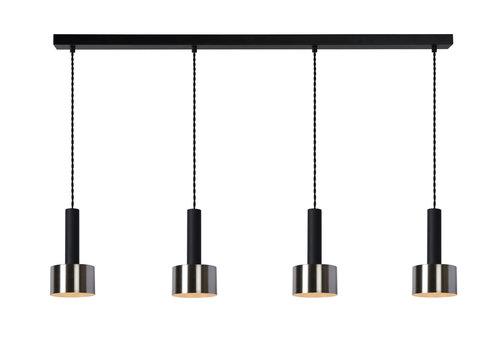 Lucide TEUN Hanglamp 4x E27/40W Zwart