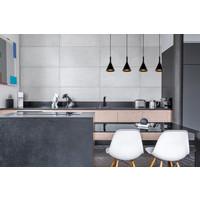 GIPSY Hanglamp 4x E27 Zwart Beton