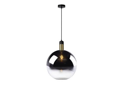 Lucide JULIUS Hanglamp-Fumé-Ø40-1xE27-40W-Glas