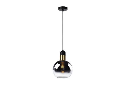 Lucide JULIUS Hanglamp 1x E27 Ø 20cm Smoke Glas