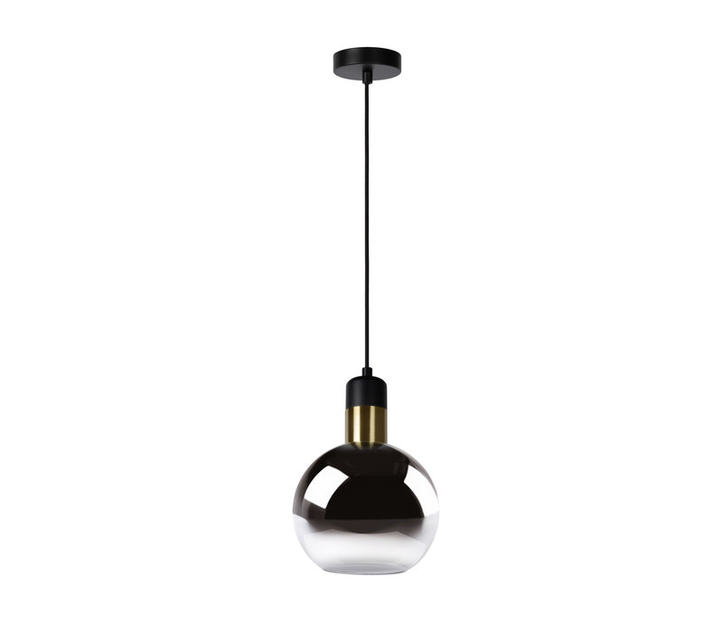 JULIUS Hanglamp 1x E27 Ø 20cm Smoke Glas